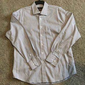 Other - NWOT TIGLIO LUXE MENS ITALIAN DRESS SHIRT